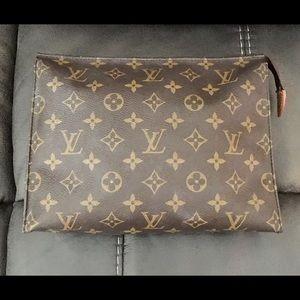 Louis Vuitton Vintage Makeup Clutch/Cosmetic Bag